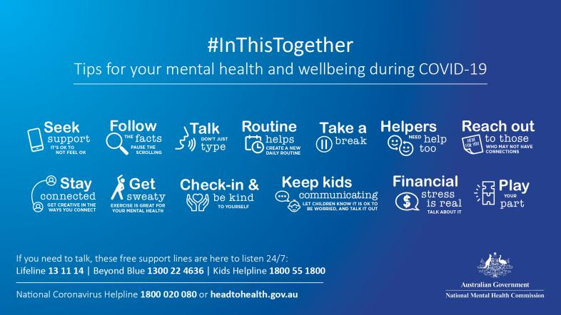 #InThisTogether mental health and wellbeing campaign